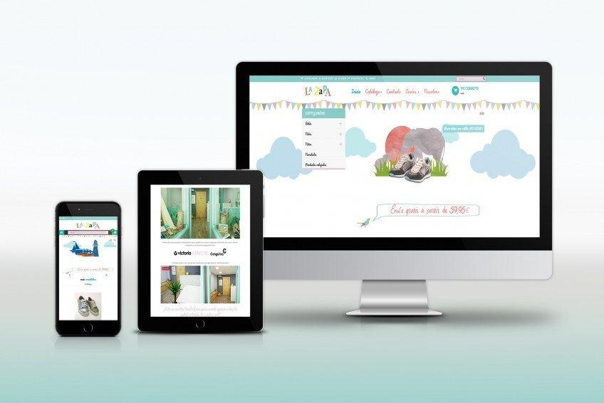 Diseño Web Velectra Design La Zapa