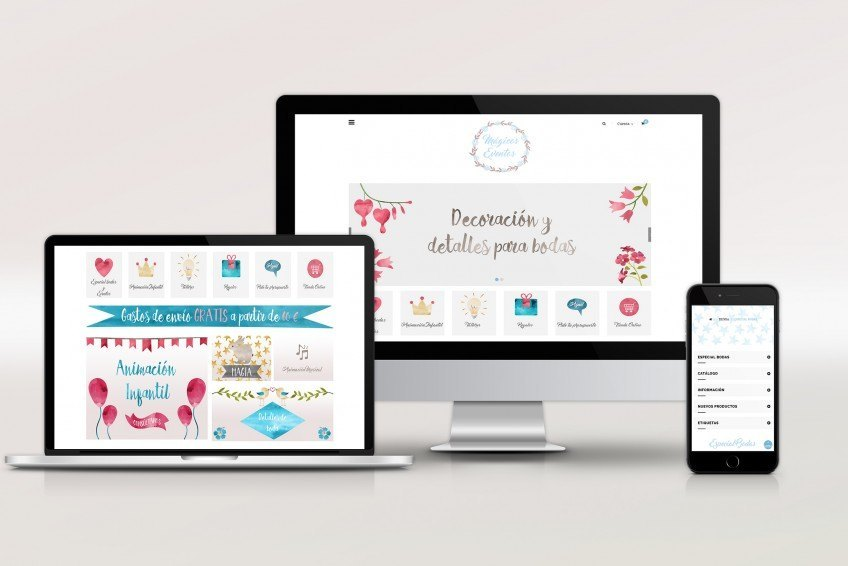 Diseño Web Velectra Design Mágicos Eventos