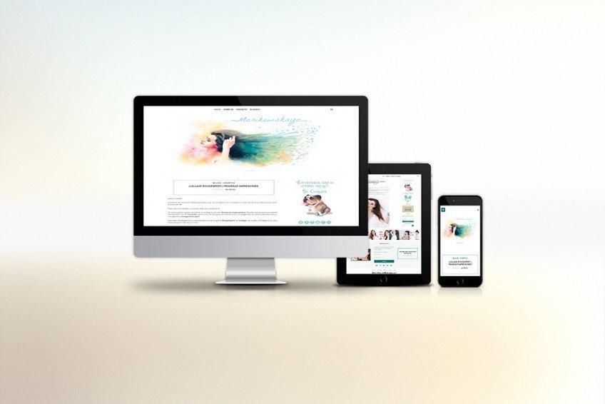 Diseño Web Velectra Design Marikowskaya