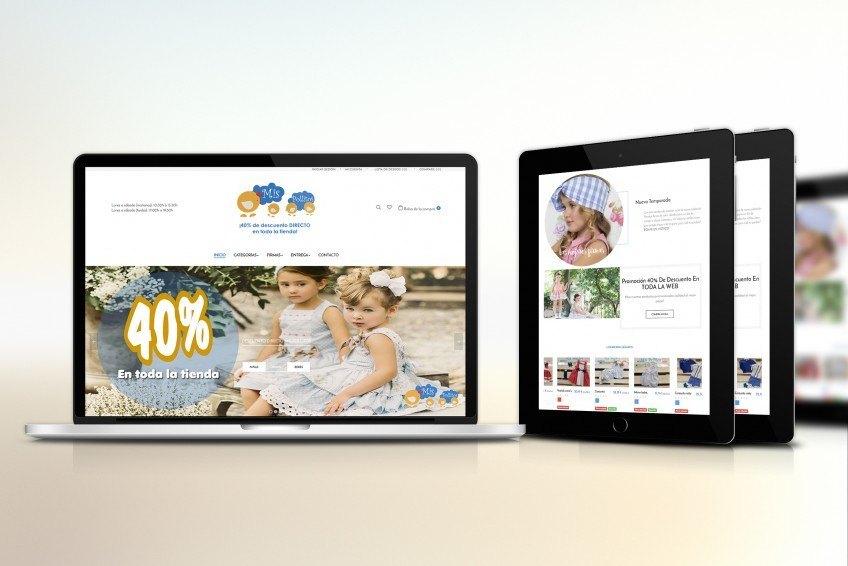 Diseño Web Velectra Design Mis Pollitos