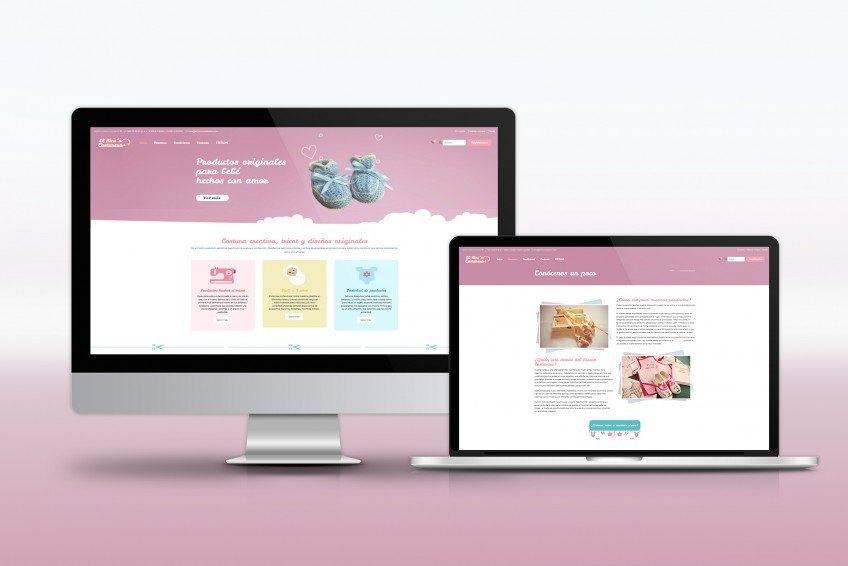 Diseño Web Velectra Design El Rincón Costurero